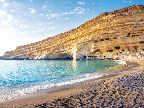 Summer 2019: Holidays in Matala, Crete!